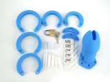 Silicone Cock Cage Chastity Cage Chastity Device for Male Penis Exercise