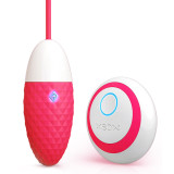Intelligent egg vibrator remote control bullet massager for women