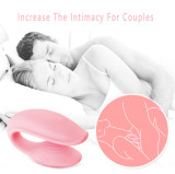 U type Vibrator for Couples Lesbian  Remote Control Vibrating Wand Massager USB Rechargeable and Cordless  Powerful Love Egg Stimulator Wireless Stress Away Sport Recovery