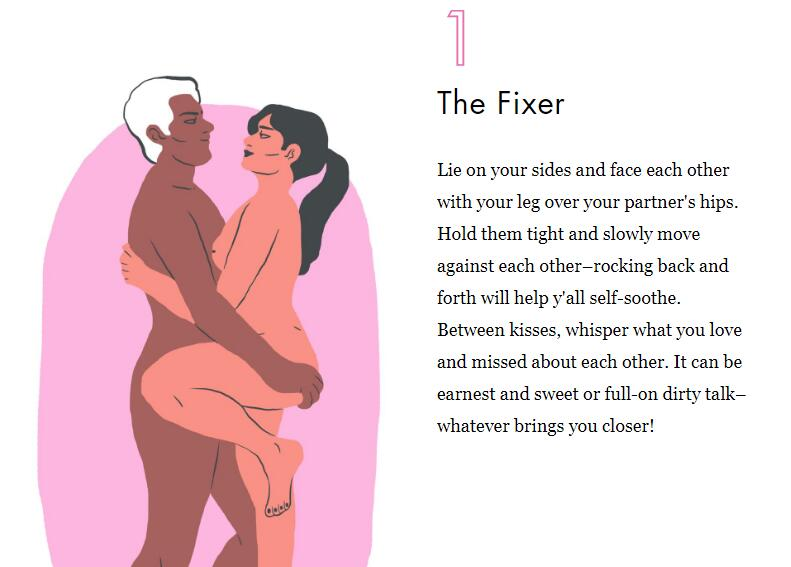 Sex positions that feel amazing