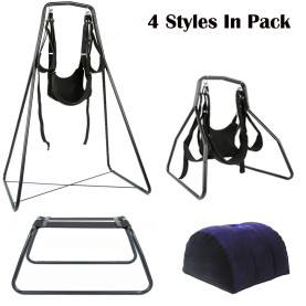 4 Styles Pack Swing Sex Furniture Magic Cushion Pillow for Couples Advanced Players