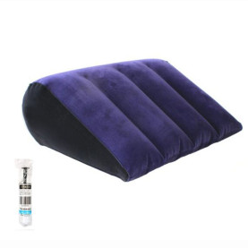 Inflatable Sex Cushion Furniture Triangle Position Support Pillow Toy For Couples