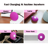 Clit Licking Tongue Powerful Egg Vibrator Rechargeable or USB Bullet Sex Toy For Women