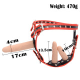 Removable Triple Dildos Plug With Adjustable Strap-on Harness BDSM Fetish Sex Toy for Female Lesbian