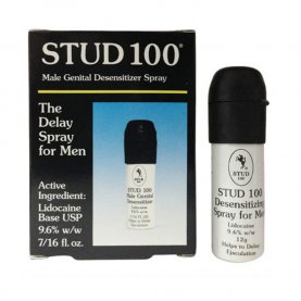 Stud 100 Male Genital Desensitizer Spray, 7/16- Fl. Ounce Box (Pack of 3)