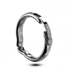 Adjustable Size Foreskin Rings Penis Ring for Man Magnetic Physiotherapy Metal V Type Circumcision Erection Cock Ring