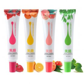 50ml Fruit Flavor Water Based Lubricant Long Lasting Personal Sex Lube For Women and Men