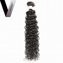 Perstar 9A Unprocessed Water Wave Brazilian Virgin One Bundle Remy Weave Human Hair Water Wave Bundles For Beautiful Ladies
