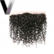 Perstar 9A Brazilian Water Wave 13*4 Lace Frontal Closure Remy Unprocessed Water Wave Top Swiss lace Frontal