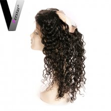 Perstar 9A Water Wave 360 Lace Frontal Closure Unprocessed Brazilian Virgin Top Quality Human Hair Closure