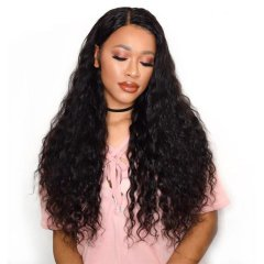 New Products 150% Density Deep Wave 4X4 Lace Wigs Virgin Hair
