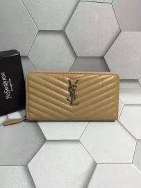 サンローランコピー 財布 2017美品 Yves Saint Laurent レディース ラウンドファスナー長財布 358094-1