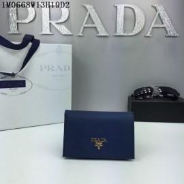 2016秋冬新作 プラダコピー 財布 PRADA レディース シンプル 優雅な 二つ折財布 1M0668-2