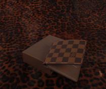 ルイヴィトン LOUIS VUITTON ダミエ 二つ折財布 ブラウン N60930-2