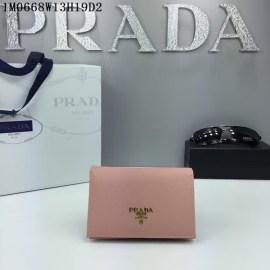 2016秋冬新作 プラダコピー 財布 PRADA レディース シンプル 優雅な 二つ折財布 1M0668-3