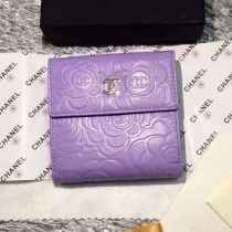 シャネルコピー 財布 CHANEL 2016春夏新作 レディース 二つ折り財布 コインケース 48980-8