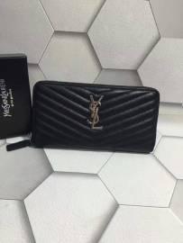 サンローランコピー 財布 2017美品 Yves Saint Laurent レディース ラウンドファスナー長財布 358094-4