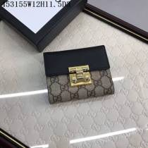 GUCCI グッチコピー 財布 2017新作 パッドロック式 折り畳み財布 453155-4