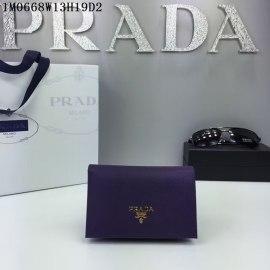 2016秋冬新作 プラダコピー 財布 PRADA レディース シンプル 優雅な 二つ折財布 1M0668-1