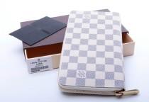 ルイヴィトンコピー LOUIS VUITTON ダミエアズール N60012 ファスナー財布