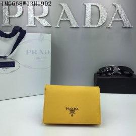 2016秋冬新作 プラダコピー 財布 PRADA レディース シンプル 優雅な 二つ折財布 1M0668-5