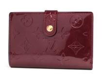 ルイヴィトンコピー LOUIS VUITTON モノグラム ヴェルニ ポルトフォイユ・ヴィエノワ 二つ折財布 ルージュフォーヴィスト M91524