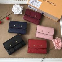 ルイ・ヴィトン(Louis Vuitton) モノグラムアンプラント ポルトフォイユ・ポンヌフ・コンパクト M62185 レディース モノグラムアンプラント 財布(三つ折り) ス