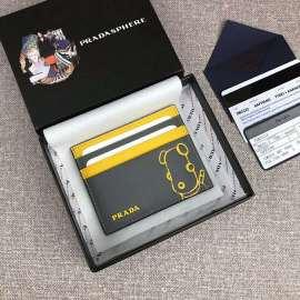 プラダコピー財布 PRADA 2019新作 マリア サフィアーノ カードケース 2MC223
