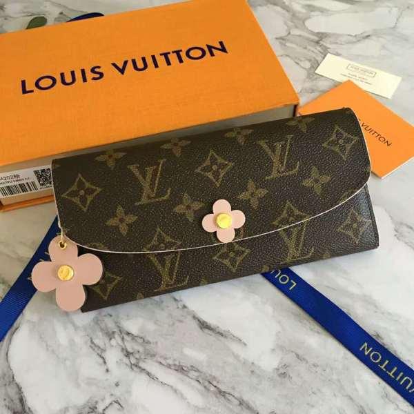 ルイヴィトン財布コピー 2018新作 LOUIS VUITTON ポルトフォイユ・エミリー M64202