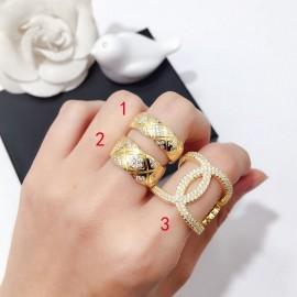 Chanelシャネル指輪リングスーパーコピー三件套