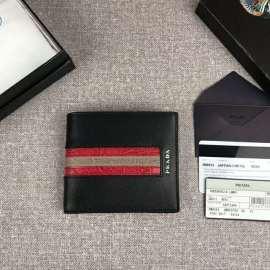 プラダコピー財布 PRADA 2019新作 高品質 二つ折財布 2M0513-15