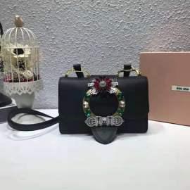 ミュウミュウバッグコピー MIUMIU 2019新作 高品質 レディ マテラッセ ショルダーバッグ 5BH609-7