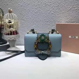 ミュウミュウバッグコピー MIUMIU 2019新作 高品質 レディ マテラッセ ショルダーバッグ 5BH609-9