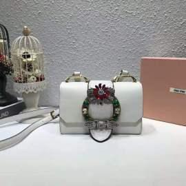 ミュウミュウバッグコピー MIUMIU 2019新作 高品質 レディ マテラッセ ショルダーバッグ 5BH609-8