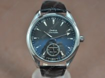 Omega Watches Seamaster Aqua Terra Co-Axial Man SS Black dial Manual Handwind