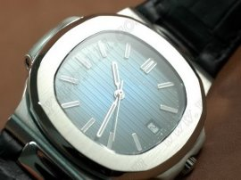 パテックフィリップPatek Philippe Nautilis Jumbo SS/LE Burnt Blue/Sticks自動巻き