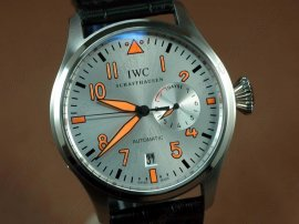 IWC Watches Big Pilot 2nd Edition SS silver自動巻き