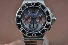 ブルガリBvlgari Diagono SS/SS Asian 7750 Chrono Movt自動巻き