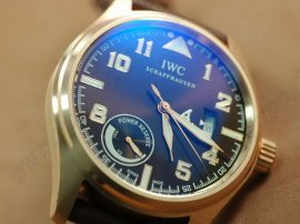 IWC St Exupery Power Reserve RG/LE Brown Asia Auto自動巻き