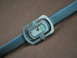 ブルガリBvlgari Parentesi Ladies Full Diam SS/LE White SwissQtzクオーツ