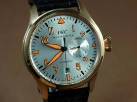 IWC Watches Big Pilot 2nd Edition RG silver自動巻き