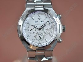 ヴァシュロンコンスタンタン Vacheron Constantin Overseas SS White (Upgraded) Swiss Eta 2836自動巻