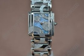 パテックフィリップPatek Philippe Ladies 4910/49G Twenty-4 SS/SS Light Blue MOP Swissクオーツ