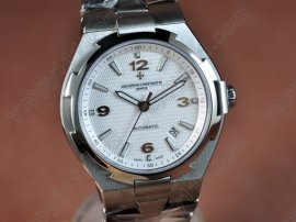 ヴァシュロンコンスタンタン Vacheron Constantin Overseas SS White (Upgraded) Swiss Eta 2824-2自動巻