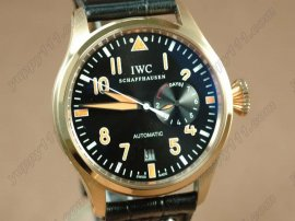 IWC Watches Big Pilot 2nd Edition RG Black自動巻き