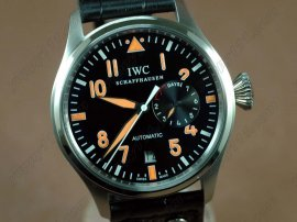 IWC Watches Big Pilot 2nd Edition SS Black自動巻き