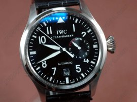 IWC Watches Big Pilot 2nd Edition SS Black 2自動巻き