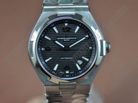 ヴァシュロンコンスタンタン Vacheron Constantin Overseas SS Black (Upgraded) Swiss Eta 2824-2自動巻