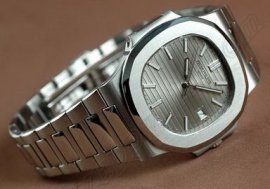 パテックフィリップPatek Philippe Nautilis Jumbo SS Grey/Sticks自動卷き