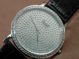 ピアジェPiaget Altaplano Fingerprint WG Diamonds Swiss Quartzクオーツ